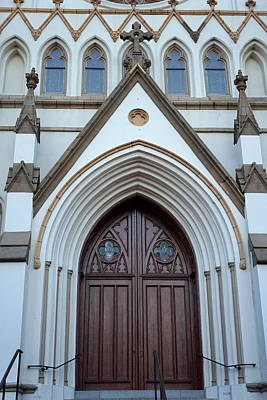Photograph - Cathedral Doors by Laurie Perry
