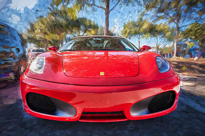 Photograph - 2009 Ferrari F430 Spider Convertible Painted  by Rich Franco
