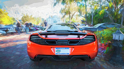 Photograph - 2014 Mclaren Mp4 12c Spider C198 by Rich Franco