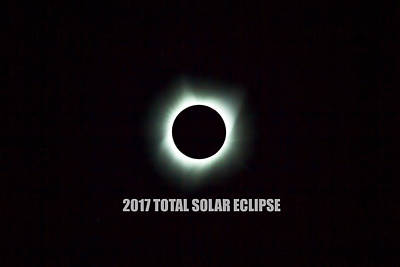 Photograph - 2017 Total Solar Eclipse by David Gn