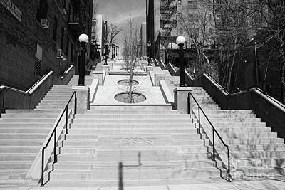 Photograph - 215th Street Stairs by Cole Thompson
