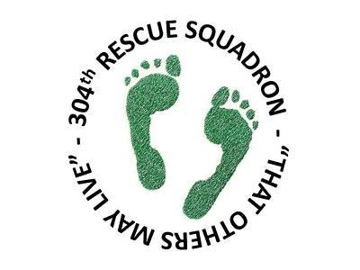 304th Rescue Squadron Art Print