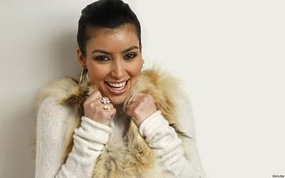 Kim Kardashian Digital Art - 31785 Kim Kardashian  by F S