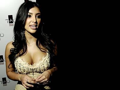 Kim Kardashian Digital Art - 31787 Kim Kardashian  by F S