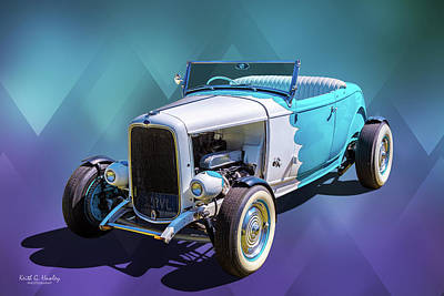 Photograph - 32 Roadster by Keith Hawley