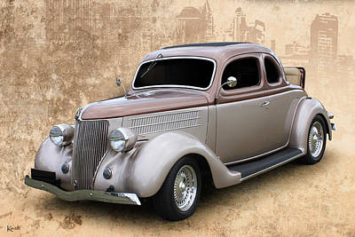 Photograph - 36 Coupe by Keith Hawley