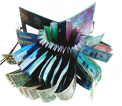 Currency Mixed Media - 36 Ways To Lose Money by Annie Alexander
