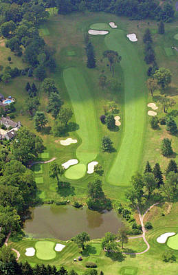 Photograph - 3rd Hole Sunnybrook Golf Club 398 Stenton Avenue Plymouth Meeting Pa 19462 1243 by Duncan Pearson