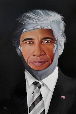 Painting - 45's Obsession by Vic Ritchey