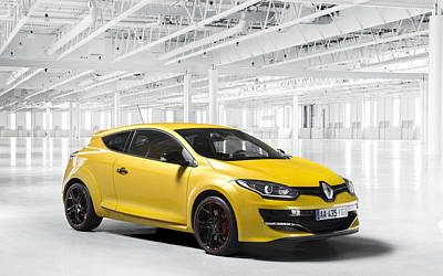Renault Clio Digital Art - 47358 Renault Clio Rs by Anne Pool