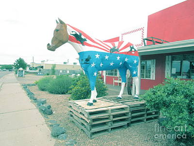Modern Kitchen - 4th Of July Horse by Frederick Holiday