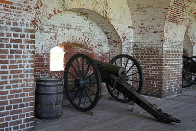 Photograph - Fort Pulasksi Cannon by Laurie Perry