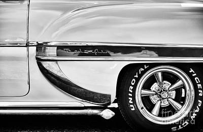 Classic Trim Photograph - 53 Bel Air  by Tim Gainey