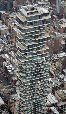 Photograph - 56 Leonard Condo Building Aerial Photo by David Oppenheimer
