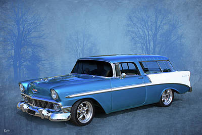 Photograph - 56 Nomad by Keith Hawley