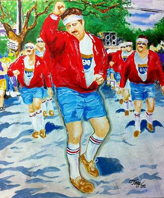Painting - 610 Stompers by Terry J Marks Sr