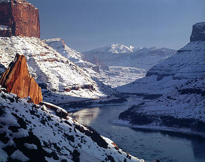 Photograph - 612702 Near Moab In Winter by Ed Cooper Photography