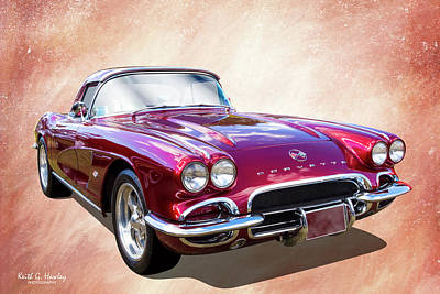 Photograph - 62 Vette by Keith Hawley