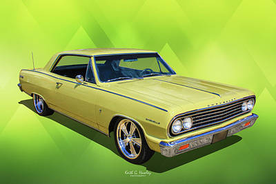 Photograph - 64 Chevelle by Keith Hawley