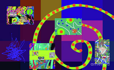 Digital Art - 7-18-2015dabcdefghijklmnopqrtuvwxyzabc by Walter Paul Bebirian