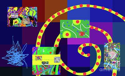 Digital Art - 7-18-2015dabcdefghijklmnopqrtuvwxyzabcde by Walter Paul Bebirian
