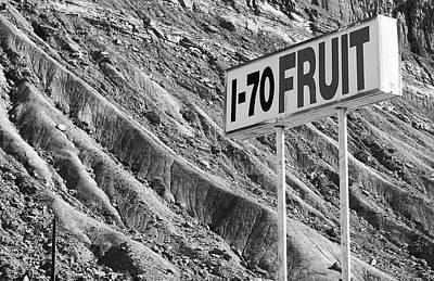 Photograph - 1-70 Fruit by David Pantuso