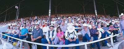 Of Rodeo Events Photograph - 75th Ellensburg Rodeo, Labor Day by Panoramic Images