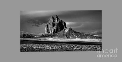 Photograph - 90167 Shiprock Panorama by Erik Poppke