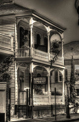 French Quarter Photograph - 905 Royal Hotel by Greg and Chrystal Mimbs