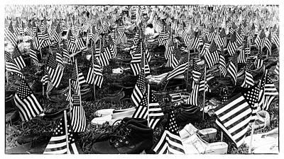 Photograph - 911 Shoe Memorial by Paul Seymour