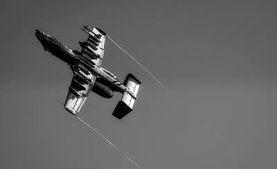 Photograph - A-10 Soaring High by U S A F