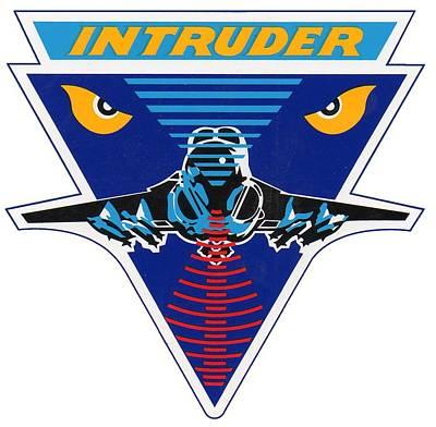 Digital Art - A-6 Intruder by Ted Kole