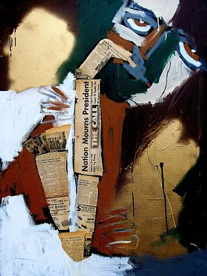 A Blues For Camelot Art Print by Harold Smith
