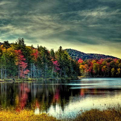 Landscapes Wall Art - Photograph - A Calm Autumn Day On West Lake by David Patterson