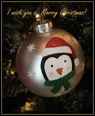 Photograph - A Christmas Greeting by Dora Sofia Caputo Photographic Design and Fine Art