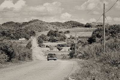 Photograph - A Country Ride by Mary Buck