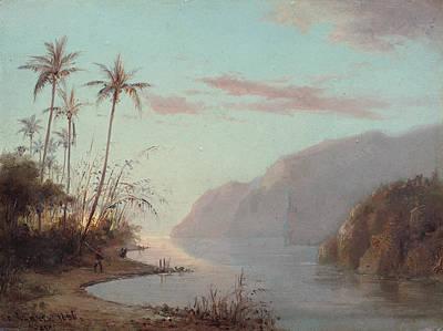 Beautiful Creek Painting - A Creek In St Thomas - Virgin Islands by Mountain Dreams