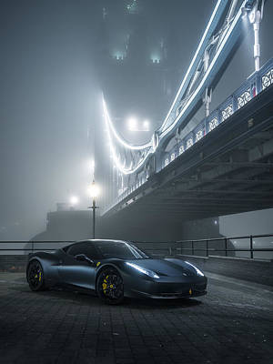 Photograph - A Foggy Evening In London by George Williams
