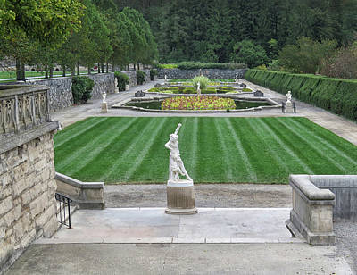 Photograph - A Formal Garden by Dave Mills