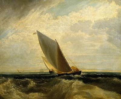 Sheppey Painting - A Fresh Breeze by Joseph Mallord
