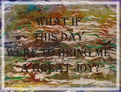 Digital Art - A Great Joy by Barbara Griffin