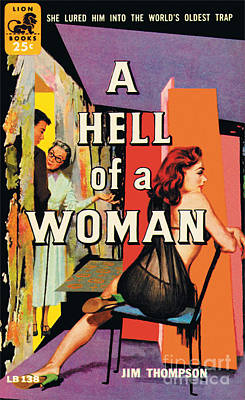 A Hell Of A Woman Art Print