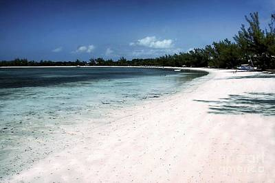 Photograph - A Horseshoe Beach In The Bahamas by Polly Peacock