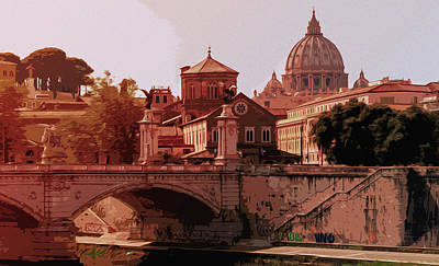Photograph - A Look At History - Rome by Andrea Mazzocchetti
