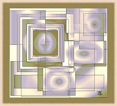 Digital Art - A Maze Ing by Iris Gelbart