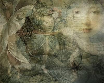 Dance Mixed Media - A Midsummer Nights Dream by Terry Fleckney