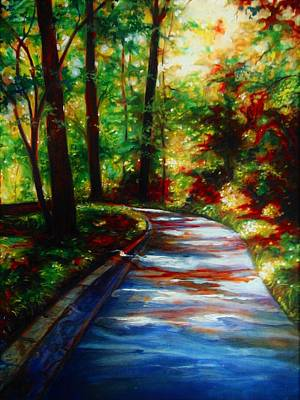 Painting - A Morning Walk by Emery Franklin