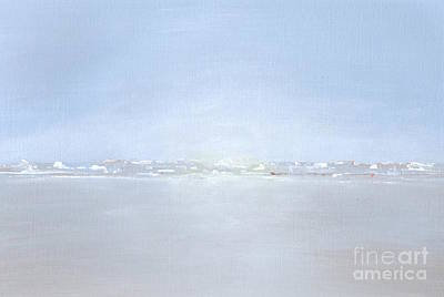 A New Beginning Painting - By The Sea. by Kim Hamilton