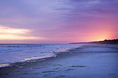 Beaufort County Photograph - A Night On The Beach Begins by Phill Doherty