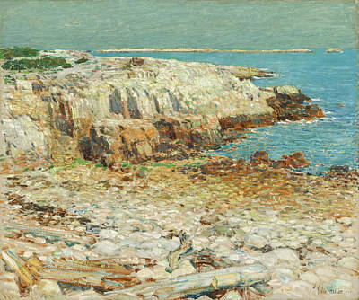 Northeast Painting - A North East Headland by Mountain Dreams